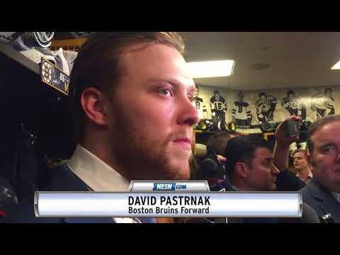 David Pastrnak Shares His Thoughts Following Win Vs. Ottawa