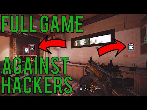FULL GAME AGAINST HACKERS! - Rainbow Six Siege Blood Orchid Gameplay