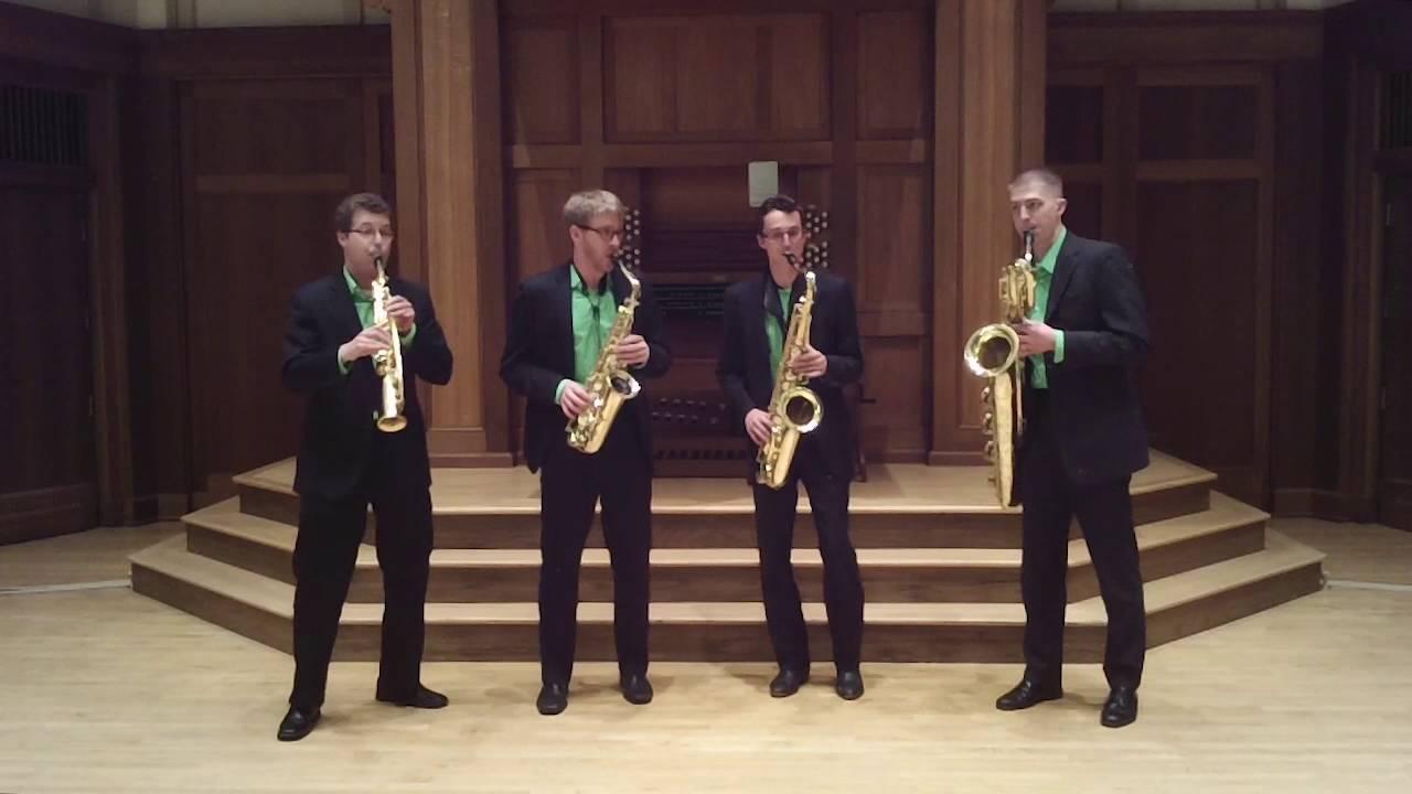 Lux Quartet - Black Bottom Stomp, arr. Fred Sturm