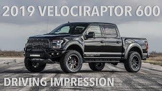 2019 Hennessey VelociRaptor 600 Driving Impression