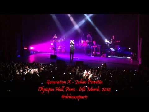 Generation X HD live - Julian Perretta@Olympia, Paris - 06-03-2012