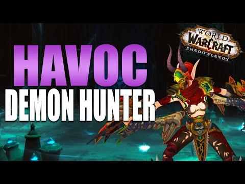 HAVOC DEMON HUNTER Shadowlands Beta Preview