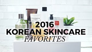 2016 Korean Skincare Favorites, korean skincare, korean beauty
