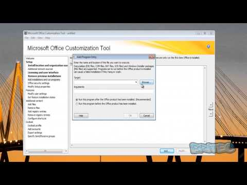Customise Office 2013 With Office Customization Tool