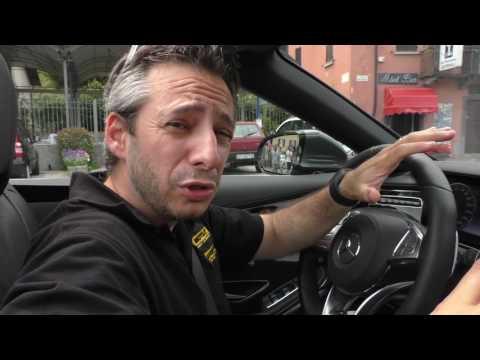 Mercedes Classe S500 Cabrio: La tecnologia di bordo
