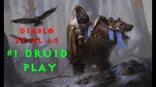 Diablo 2 Zy-El 4.5 прохождение Druid #1 Начинаем с нуля! (Кровавый Ворон)