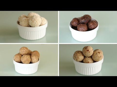 How to Make Protein Balls 4 Delicious Ways