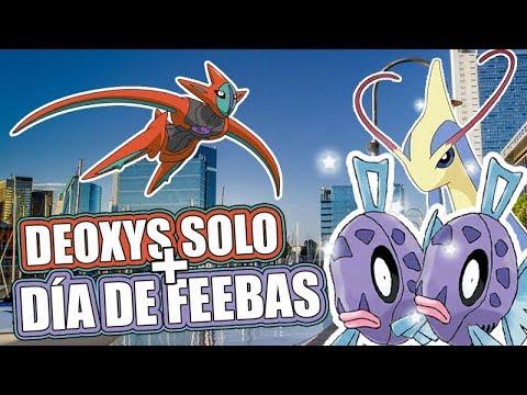Incursión Deoxys Solo Raid + Día de Feebas Pokémon Go Puerto Madero thumbnail