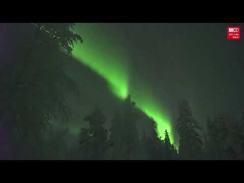 عروض الشفق القطبي ُتزين سماء فنلندا