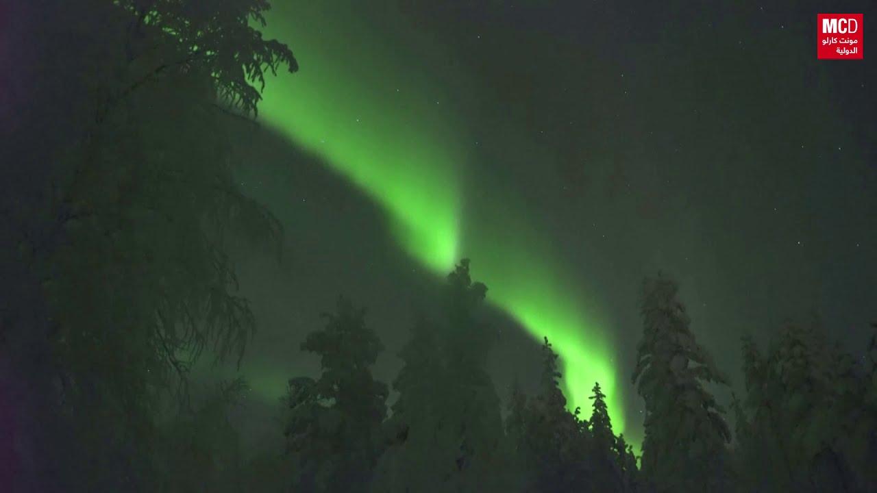 عروض الشفق القطبي ُتزين سماء فنلندا  - نشر قبل 2 ساعة