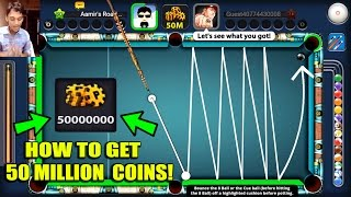 8 Ball Pool - HOW TO GET 50 MILLION COINS WITH RARE CUE [Easy Method Of Thug]