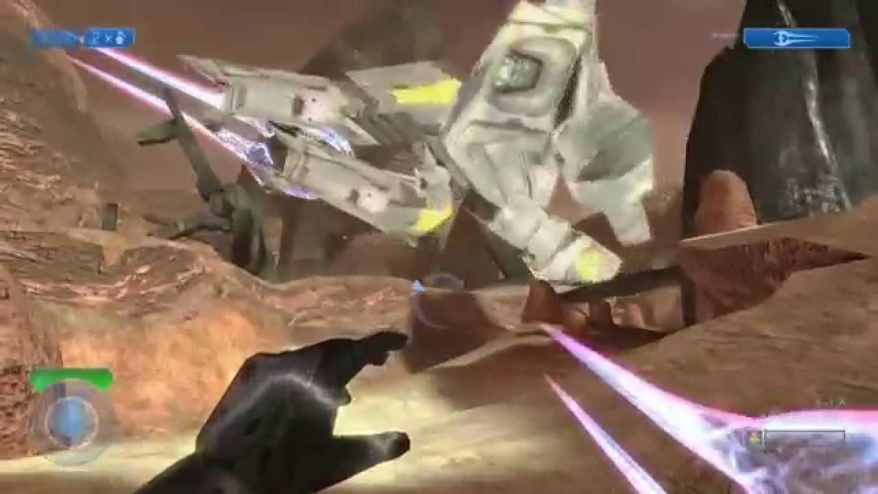 Halo 2 anniversary pelican glitch | the master chief collection.