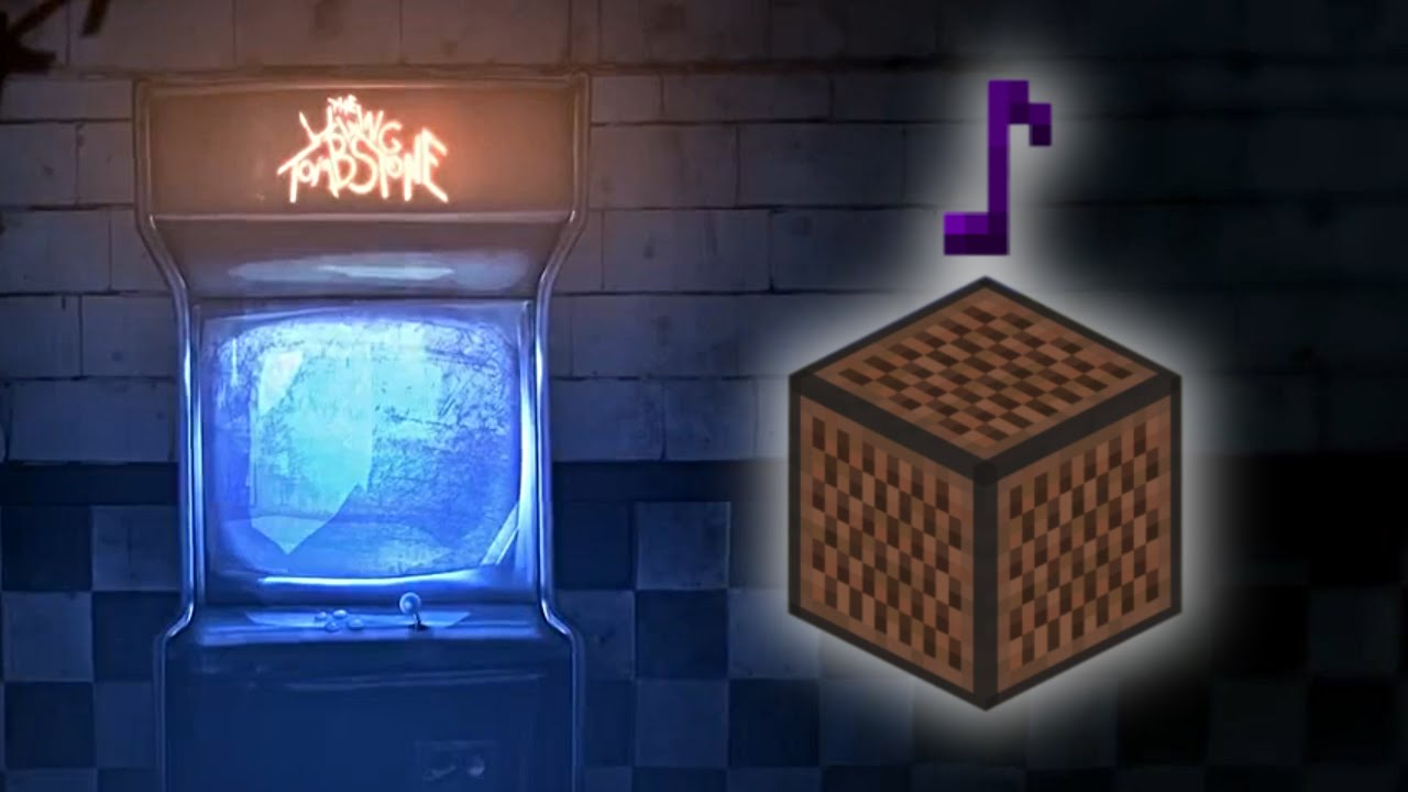 Five Nights At Freddy's 2 It's Been So Long - Minecraft Note Block Remake (The Living Tombstone)