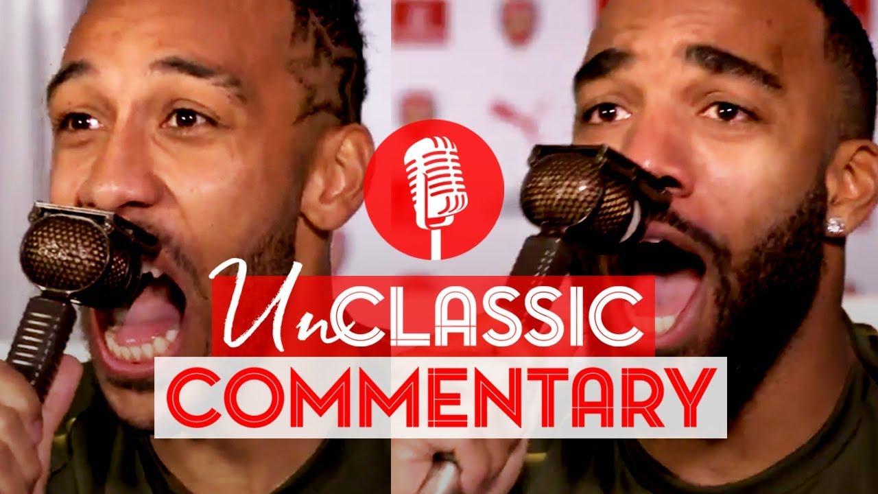 Download Aubameyang & Lacazette | UnClassic Commentary | Arsenal 4-2 Tottenham Hotspur