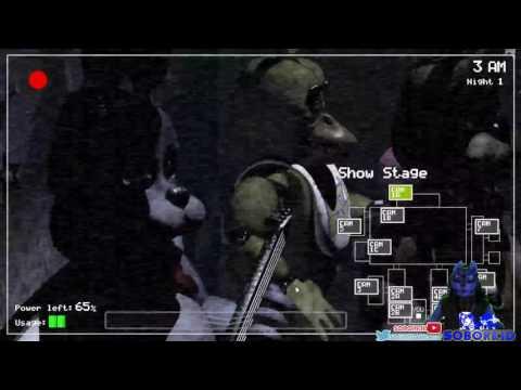 Five Nights At Freddy's nuit 1 et 2 + Premier Fan Art
