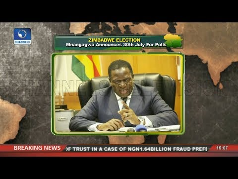 Mnangagwa Announces 30th July For Zimbabwe's Election | Network Africa |