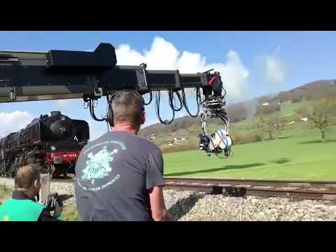 Awesome Crane work from Murder on The Orient Express