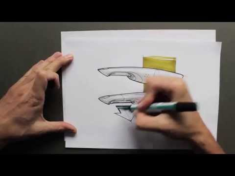 product design rendering and sketching by product tank