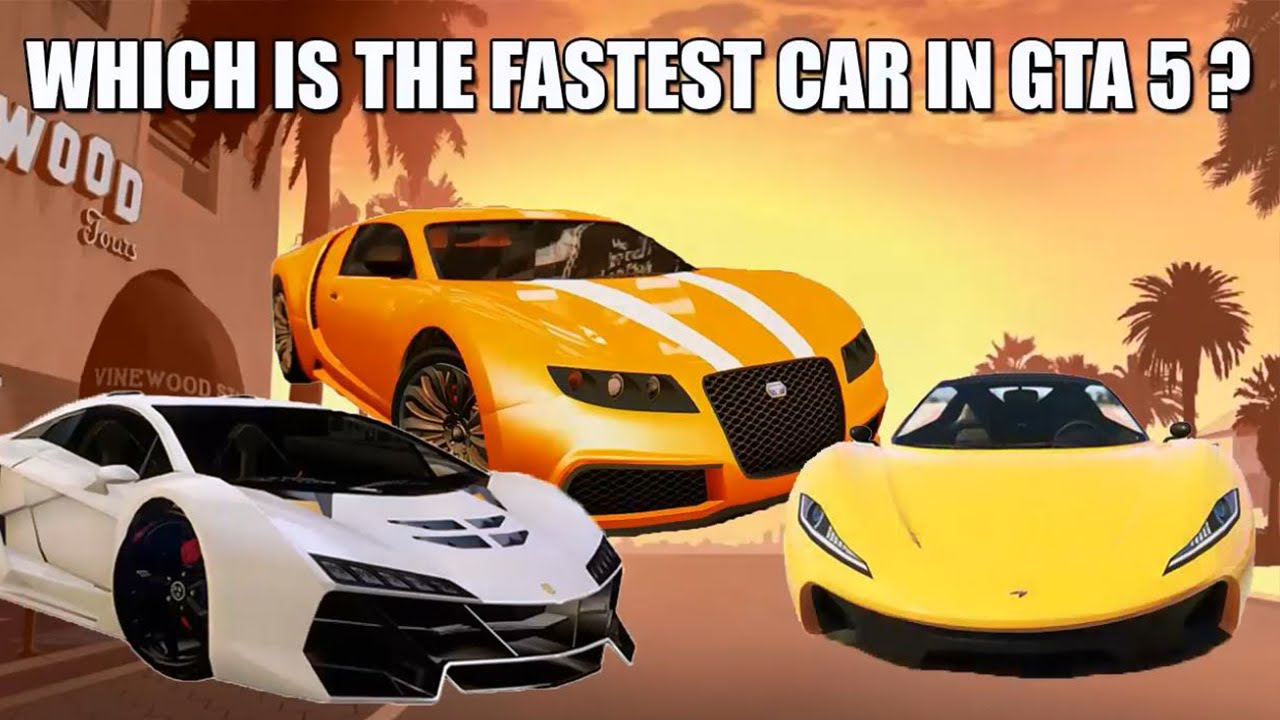 Wonderful Top 3 FASTEST Cars In GTA 5 ( No Tuning )