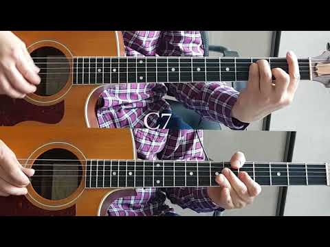 The Entertainer Acoustic guitar (with chords)