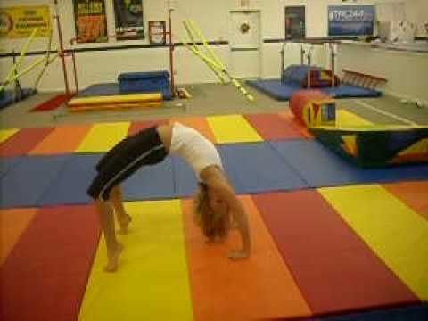 How to do a Backbend Kickover - YouTube