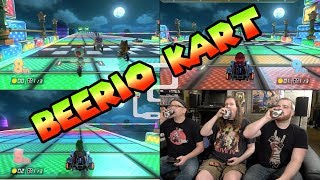 Mario Kart 8: Finish your beer by the end of the race & you can't drink & drive!
