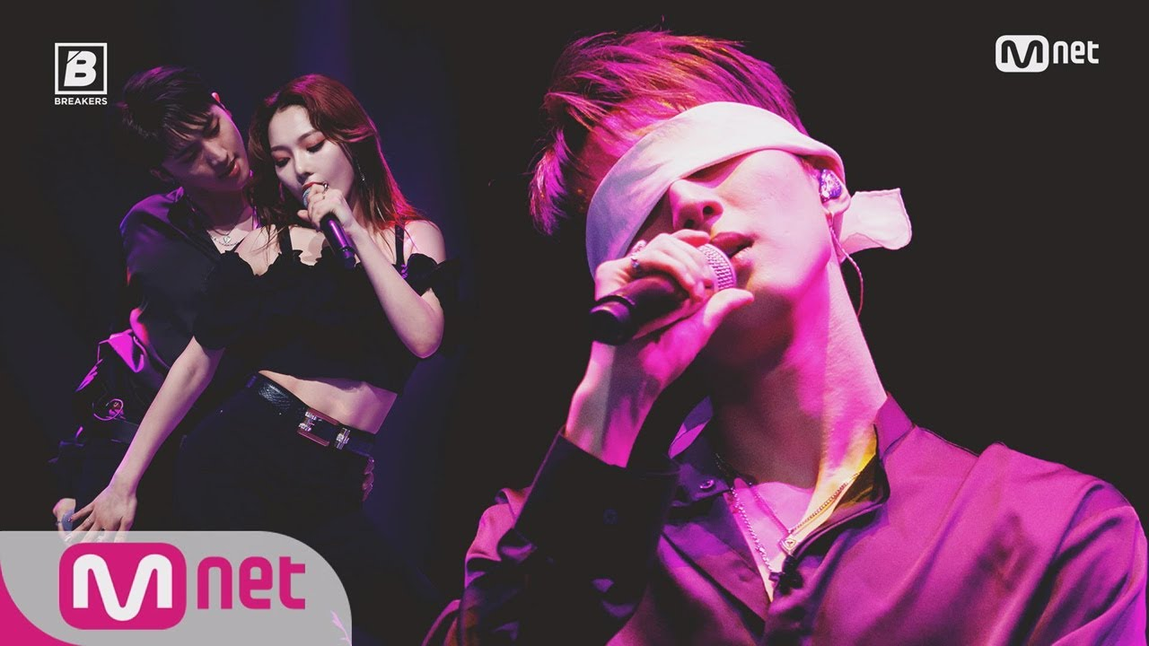 Imagini pentru BREAKERS [7회] ′신의 한수′ 후이 - ♬Swim good(Feat. 소민 of KARD) @세미파이널 ′너에게 보내는 노래′ 180601 EP.7