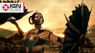 Mortal Kombat X: Projectile Ping Pong! - IGN Plays