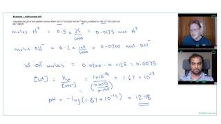 HOW TO CALCULATE pH of an ACID AND BASE MIXTURE | A Level Chemistry Tutor