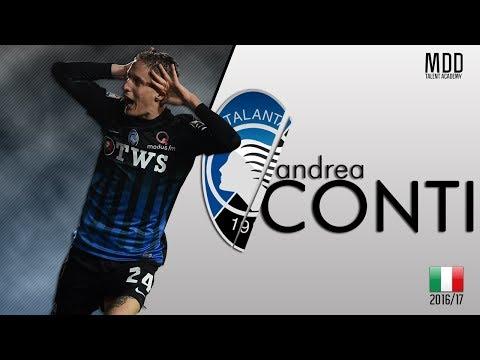 Andrea Conti | Atalanta | Goals, Skills, Assists | 2016/17 - HD