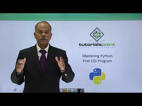 Python - First CGI Program