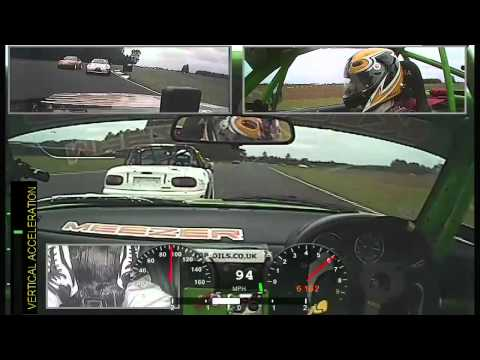 Crash Head On - Onboard - Ma5da MX5 Racing Croft - Fahad Hizam