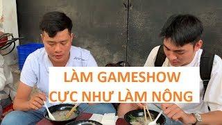 Vào mùa gameshow, Khương Dừa làm còn cực hơn ba mẹ làm nông ở quê!!!