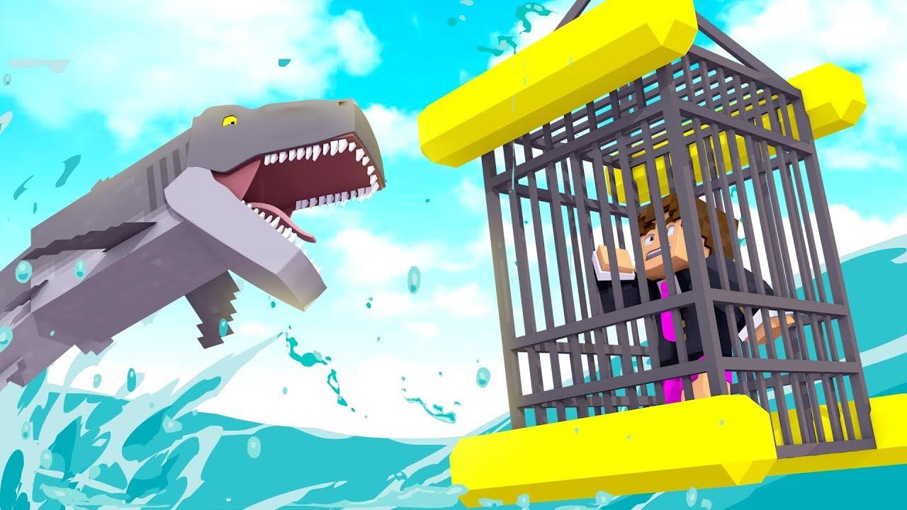 Minecraft: ATAQUE DE TUBARÃO ! - SHARK MOD ‹ LOKI ›