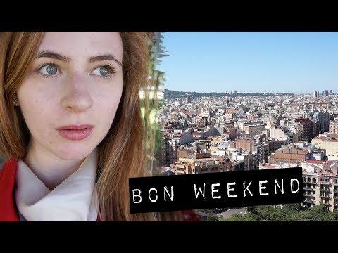 A Weekend in Barcelona & Zaragoza | travel vlog