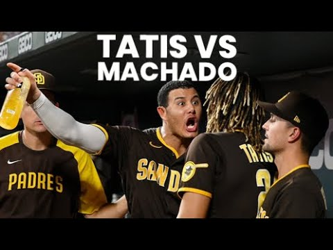 Download Manny Machado ALMOST FIGHTS Fernando Tatis Jr.