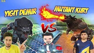 MUTANT KURDU VS YİĞİT DEMİR-EN GÜÇLÜLERİN KAPIŞMASI(TheZemzem,CombatStar)