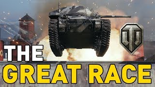 THE GREAT RACE in World of Tanks