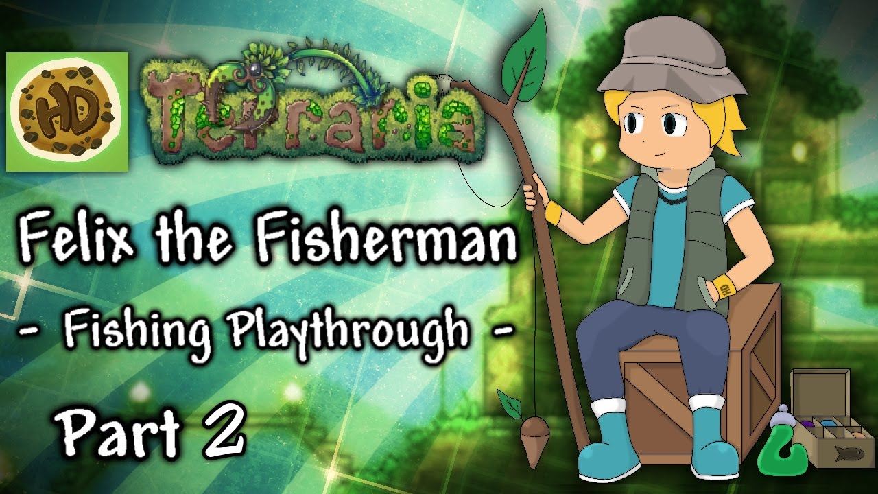 Terraria 1.3 Fisherman Challenge Part 2: Angler, Crates ...