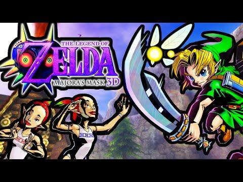 The Legend of Zelda Majora's Mask 3DS Gameplay Walkthrough Sword Upgrade Goron Race New Mask PART 14