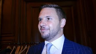 EDDIE HEARN KNOWS EVERYTHING about boxing, says Matchroom CEO Frank Smith