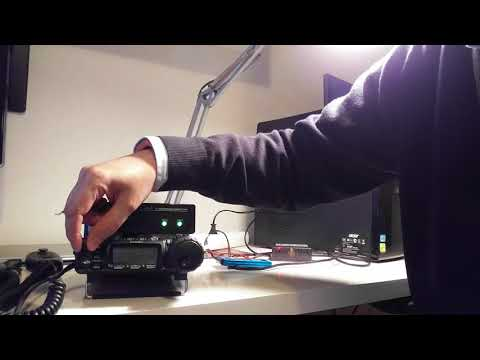Testing the mAT-30 antenna tuner with the Yaesu FT-857D | FunnyCat TV