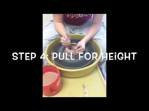 How to Throw on the Pottery Wheel
