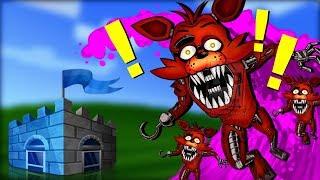 SMRTÍCÍ Růžové TSUNAMI + FNAF Monstra! vs Můj Modrý DŮM !