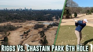 Taking On Atlanta's Top Public Course - Chastain Park 6th Hole