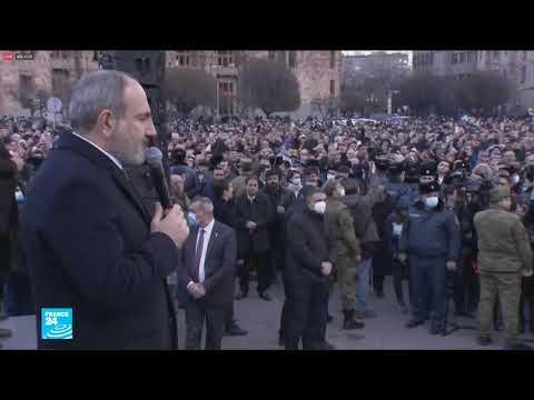 ردود فعل دولية منددة بمحاولة الانقلاب العسكري في أرمينيا  - نشر قبل 7 ساعة