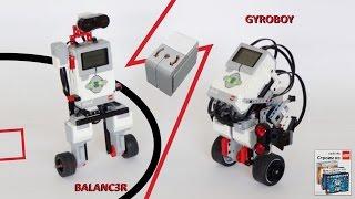 Балансирующие роботы BALANC3R и GYROBOY