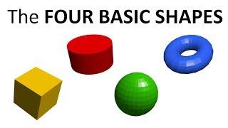 BlocksCAD: The Four Basic Shapes