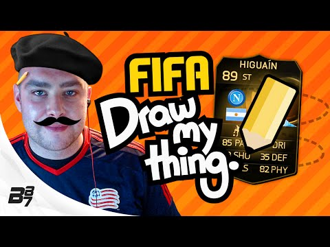 FIFA DRAW MY THING!! HUGE SIF ON THE LINE!! FIFA 15 DISCARD PACK CHALLENGE