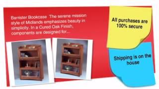 Midlands Three-door Barrister Bookcase - Ofconcepts.com